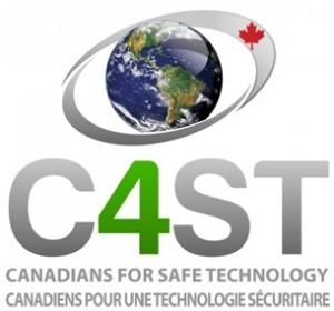 """הלוגו של הארגון של פרנק קלג, """"קנדים למען טכנולוגיה בטוחה"""""""
