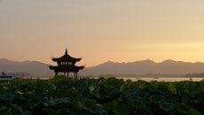 שקיעה בסין