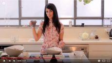 עוגת פירות יבשים טעימה, בריאה, טבעונית וללא גלוטן