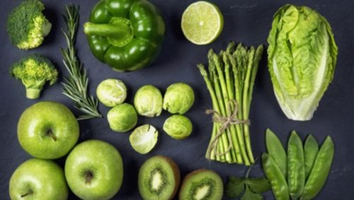 ירקות ירוקים מאבדים מחיוניותם כשהם באים במגע עם חמצן