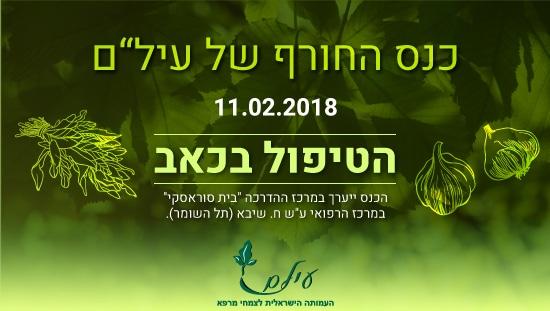 העמותה הישראלית לצמחי מרפא, כנס צמחי מרפא והטיפול בכאב