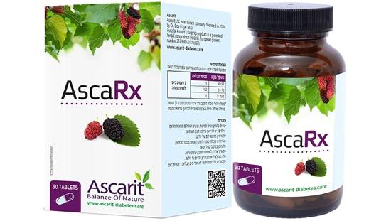"""אסכרקס לטיפול טבעי בסוכרת, פותחה על ידי ד""""ר דב פוגל, חברת אסכרית"""