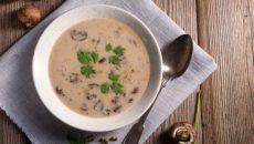 מרק פטריות עשיר, מתכון של גלי הנדל תזונה יצירתית