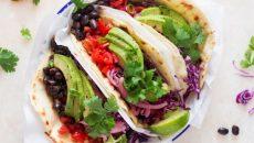 טורטייה מקסיקנית צמחונית, מתכון צמחוני של פיליס גלזר