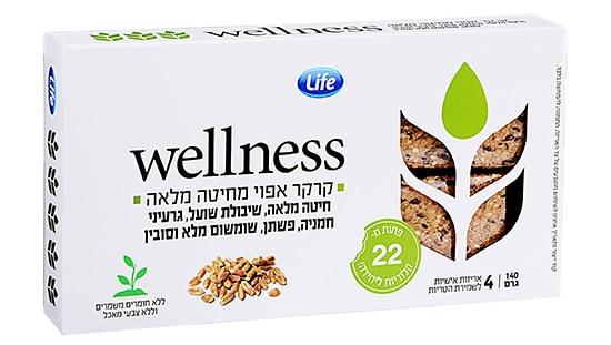 סופרפארם וולנס wellness קרקרים בריאים