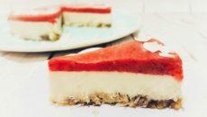 עוגת גבינה מרשימה ללא חלב