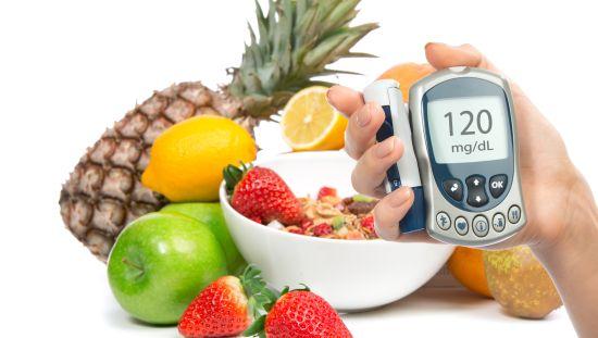 פירות ומכשיר מדידה