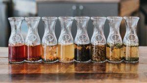 מבחר חליטות תה
