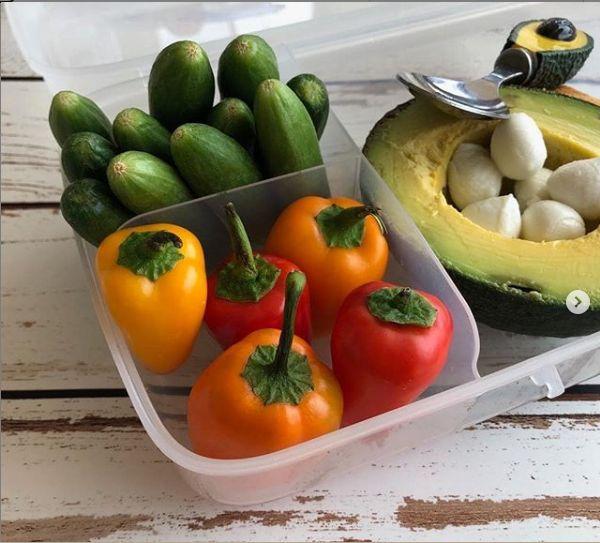 קופסת אוכל בריאה