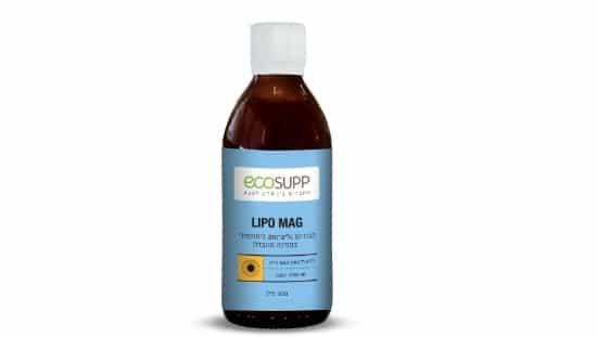 LIPO MAG – מגנזיום גליצינאט ליפוזומלי של אקוסאפ