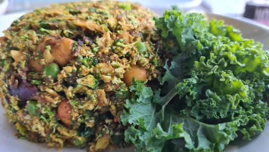 ביריאני קינואה, קטניות וקשיו פיקנטי Organic Food