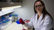 דר פייגה מגזל, חוקרת את חיידקי המעי