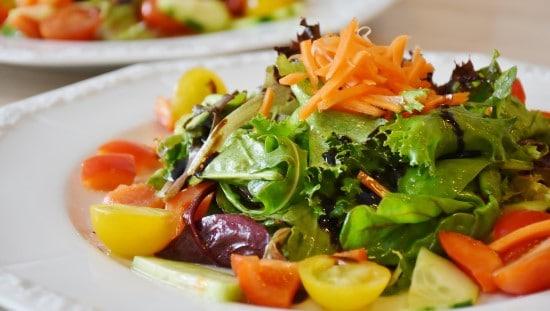 להתחיל עם מנה גדולה של ירקות