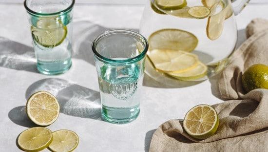 מים עם לימון, מייפל ופלפל חריף