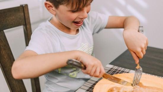 ילדים - אפשר ללמוד מהם איך ליהנות שוב מהאוכל