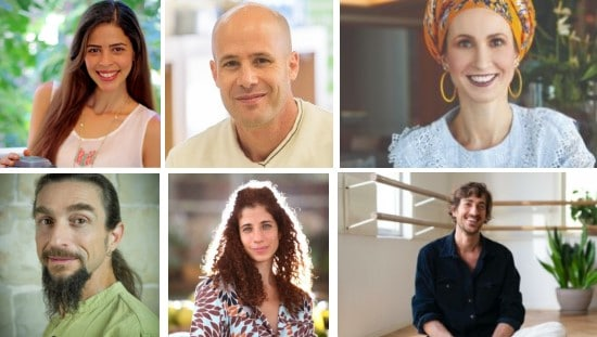 מגוון רחב ומקיף של מרצים ומטפלים בכירים מתחומי התזונה, טיפול, קולינריה, ומודעות