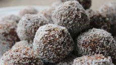 כדורי שוקולד עם חלבון. צילום באדיבות יחצ