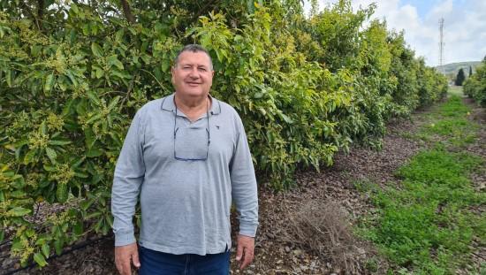"""האגרונום אודי גפני מ""""חקלאי גרנות"""". צילום: יחצ"""