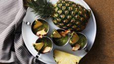 """שייק פירות עם מנטה. צילום: יח""""צ Beko"""