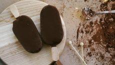 גלידת מגנום ביתית ובריאה. צילום: unsplash