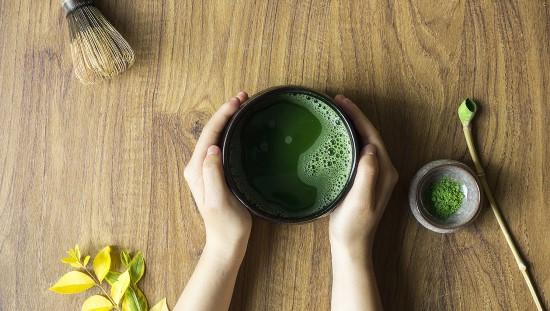 """תה מאצ'ה. צילום באדיבות יח""""צ אירני סחר- 22 קרבון"""