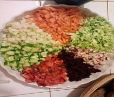 פיצת ירקות