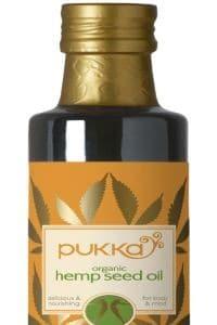 שמן המפ של חברת pukka